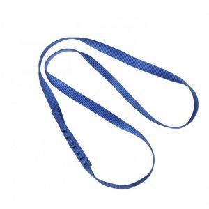 blå förankringslinga i nylonband