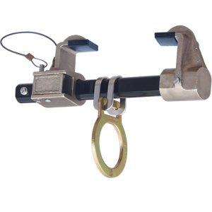 temporär förankringspungt med låsklackar för balkmontage