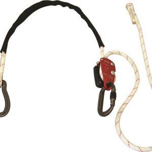 Stödlina med justerande replås och två karbiner