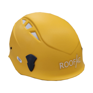 Säkerhet, utbildning, fallskydd, fallskyddsutrustning, fallskyddsprodukter, hjälm, skyddshjälm, Roofachjälm