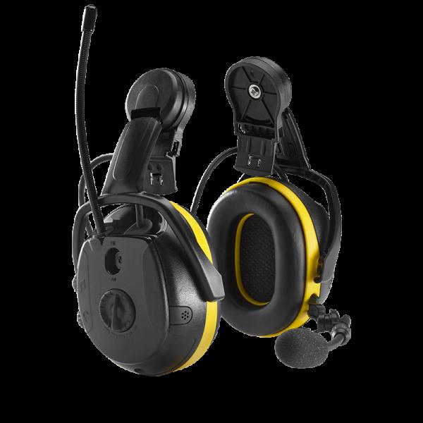 Hörselkåpor med microfon och Bluetooth