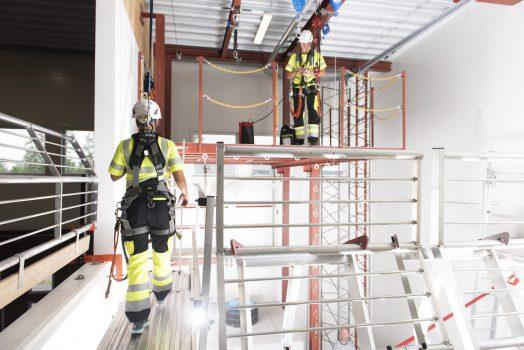 Fallskyddsutbildning hos Roofac.se